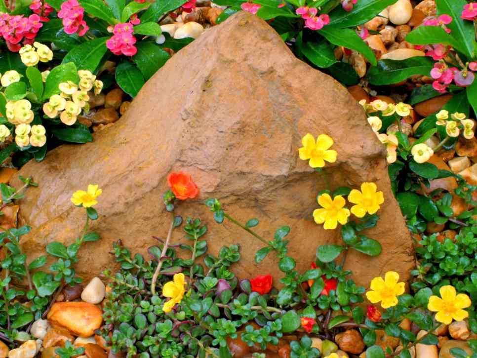 Świetne i oryginalne rozwiązanie dekoracji skalnych z betonu