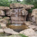 Kaskady ogrodowe ze sztucznego kamienia