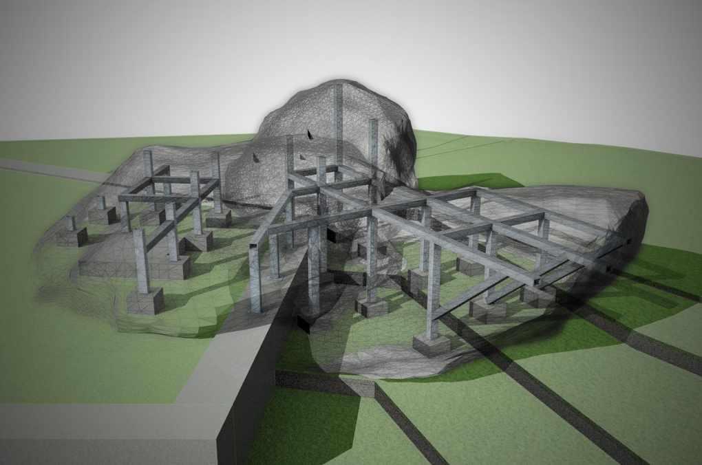 projektowanie sztucznych skał i biotopów